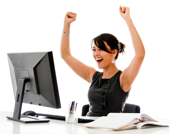 happy assistenza informatica su computer